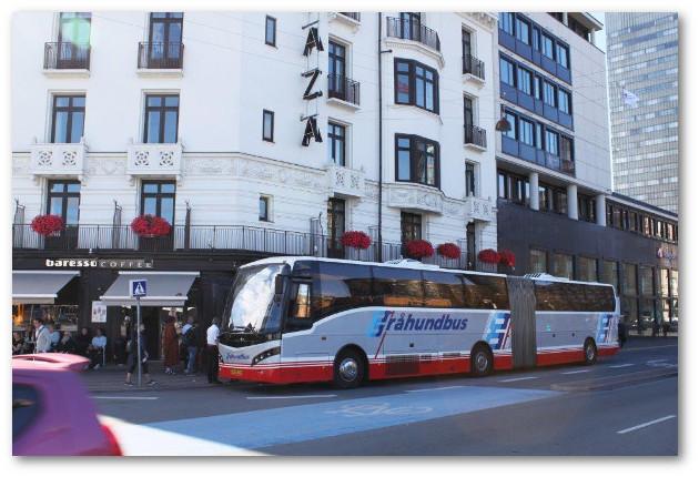 Bornholmerbussen v hotel Plaza